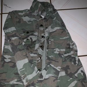 Camo jacket from forever 21